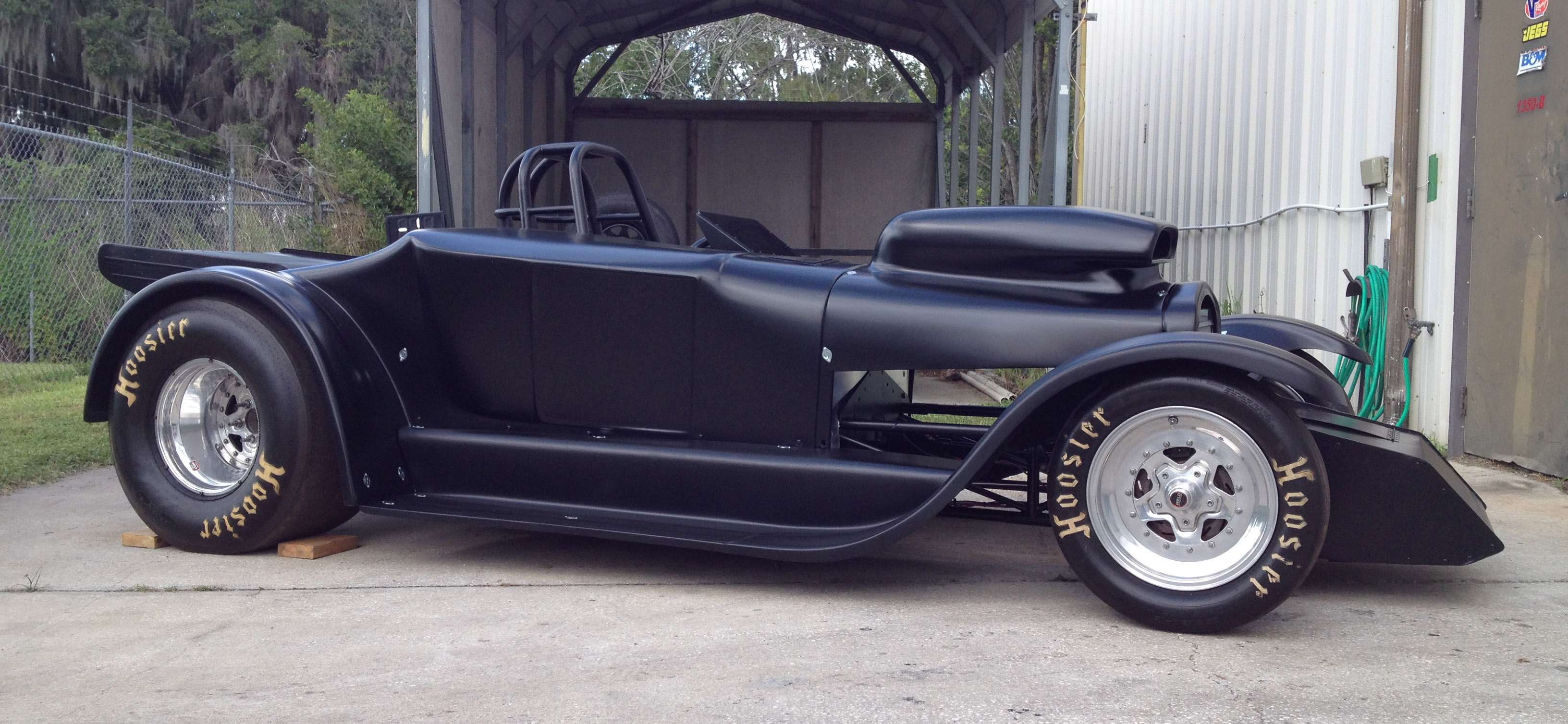 Automotive Paint Colors >> 27 Roadster in Satin Black III | Hot Rod Black Car ...